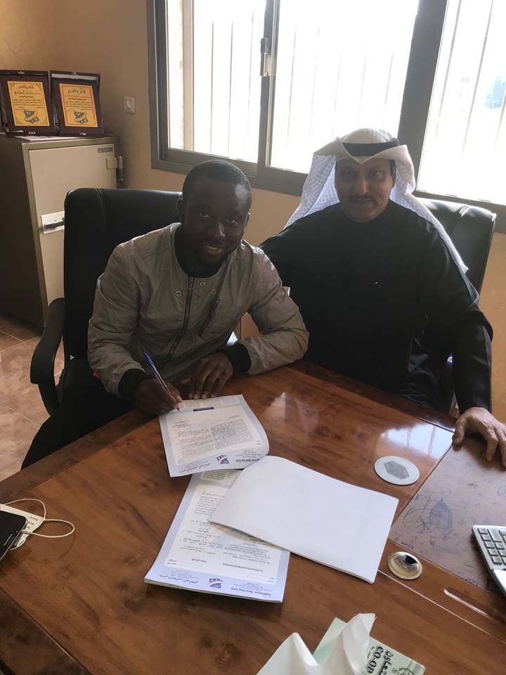 OFFICIAL: Ex-Great Olympics striker Cofie Bekoe joins Kuwaiti side SC Tadhamon