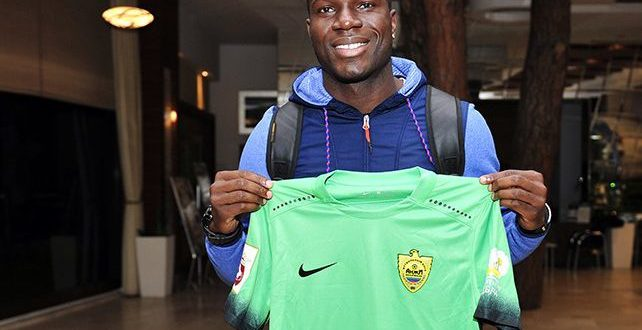 Kwadwo Poku says he's fulfilled European dreams after Anzhi Makhachkala switch