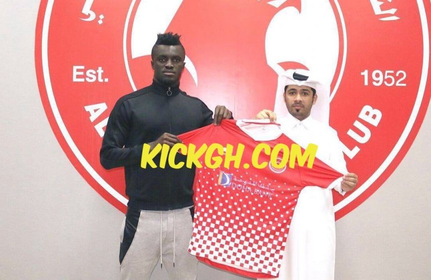 Ghanaian striker Kwame Karikari joins Qatari side Al Arabi SC