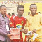 Asante Kotoko midfielder Mohammed Sylla enraptured with display against Eleven Wonders in G-8 opener