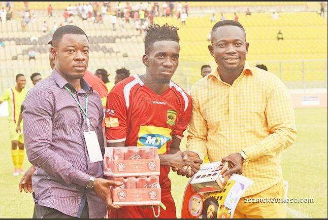 Asante Kotoko Coach Steve Polack allays Mohammed Sylla injury fears