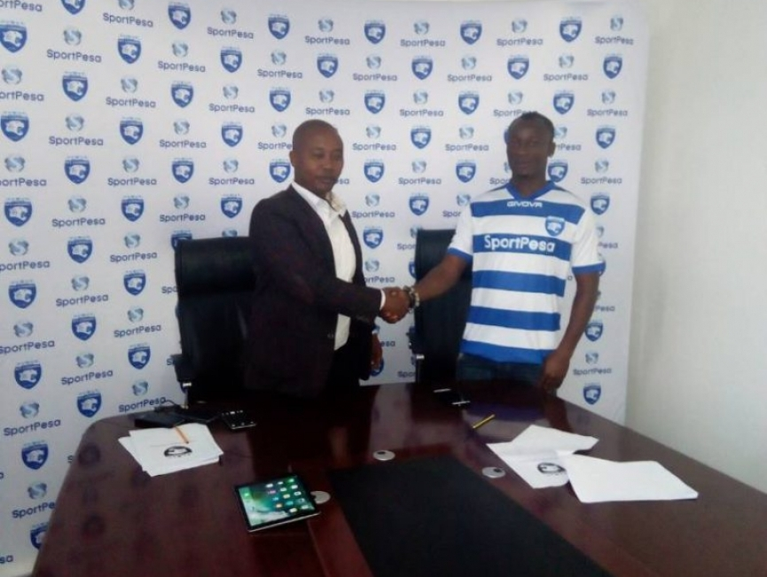 AFC Leopards chief confirms Prince Papa Arkoh's move