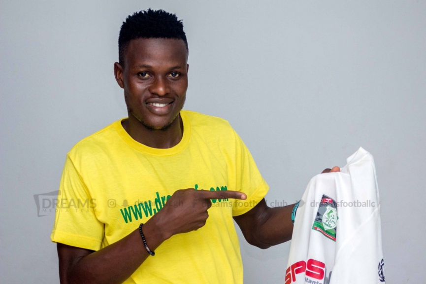 Dreams FC announce signing of midfielder Patrick Arthur