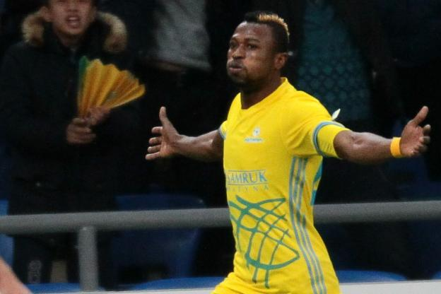 Patrick Twumasi off the mark as FC Astana beat Zhetysu Taldykorgan
