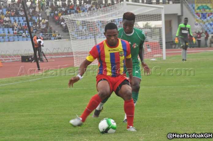Hearts of Oak budding hitman Philip Heymann vows to work hard