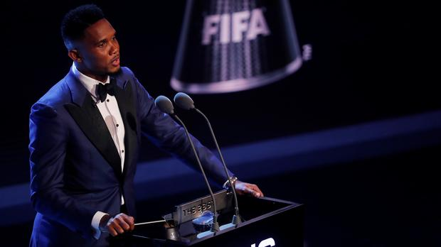 Cameroon legend Samuel Eto'o calls on Africa federations to believe in African coaches