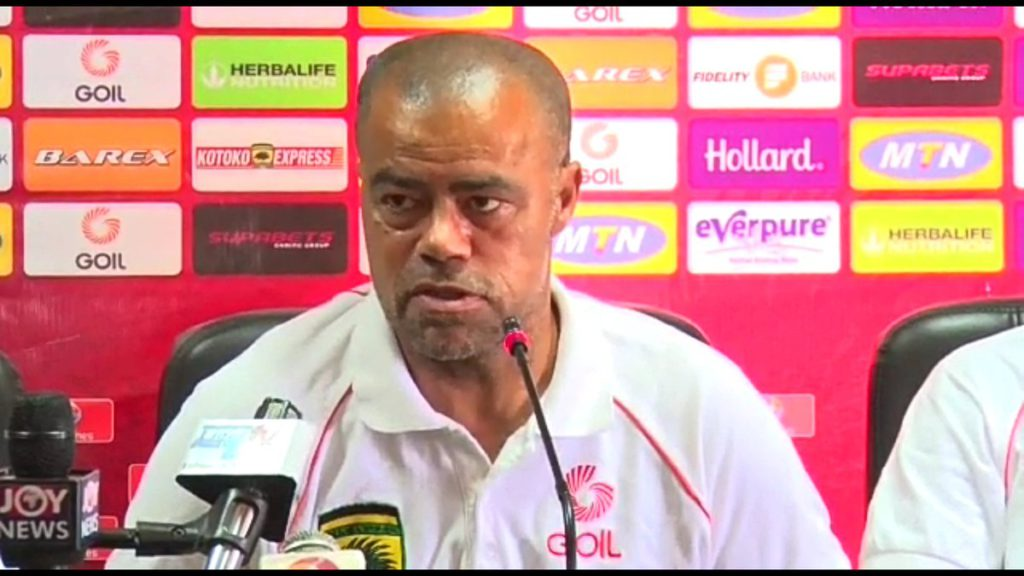 Asante Kotoko coach Steve Polack NOT perturbed by defeat to Dreams FC in G-8