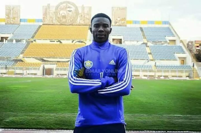 Thomas Abbey resumes Ismaily SC training after injury recovery