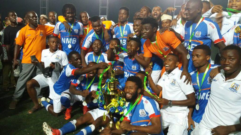 Ghanaian quartet Abalora, Arthur, Yakubu and Adjei win Mapiunduzi Cup with Azam FC