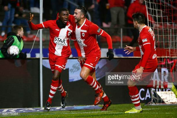 Ghanaian attacker William Owusu scores as Royal Antwerp draw with Club Brugge in Belgium