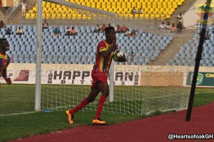 Hearts of Oak forward Richard Zuma predicts win over Asante Kotoko in G-8 semifinal