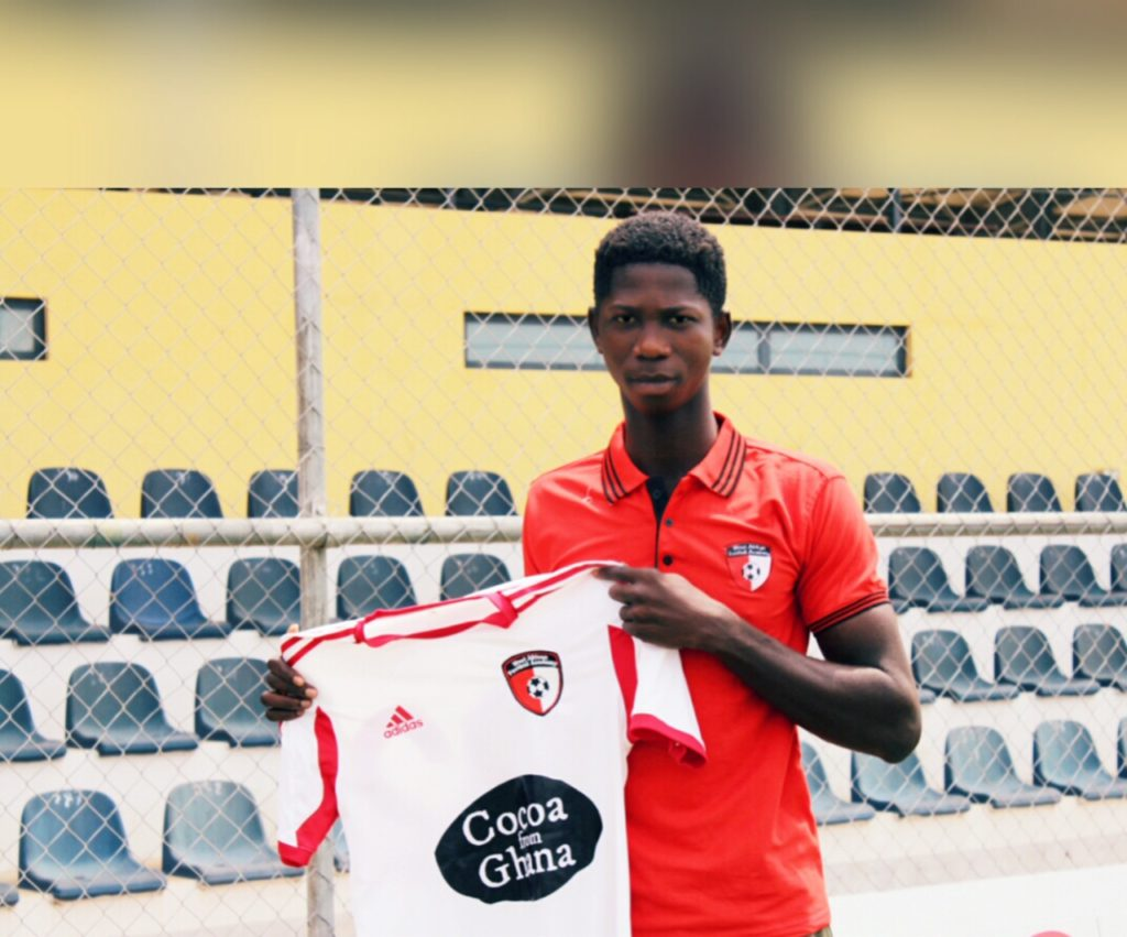 WAFA sign 17-year-old defender Konadu Yiadom from Division Two side Tema United