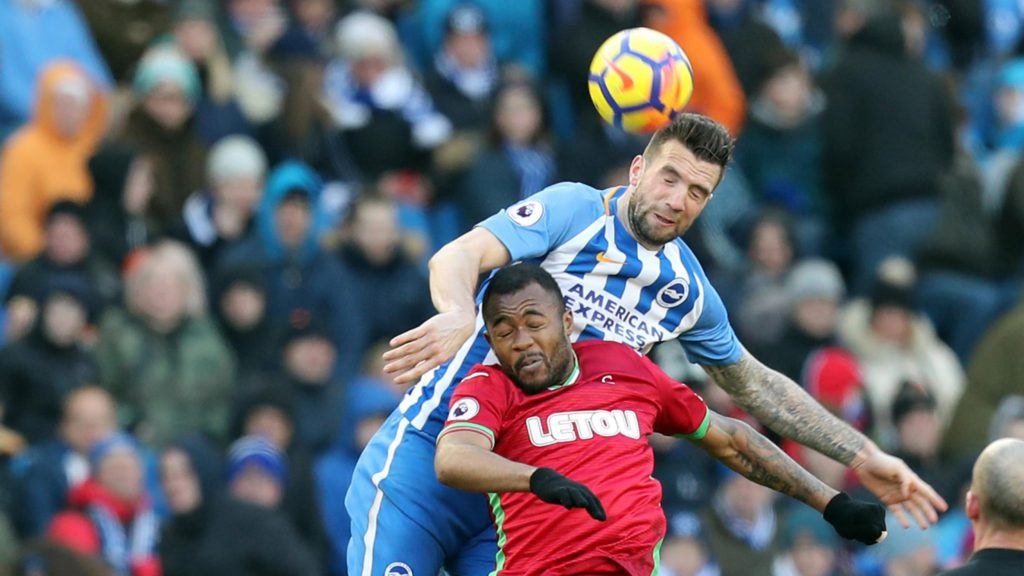 Ayew brothers in action as Swansea City suffer heavy defeat at Brighton