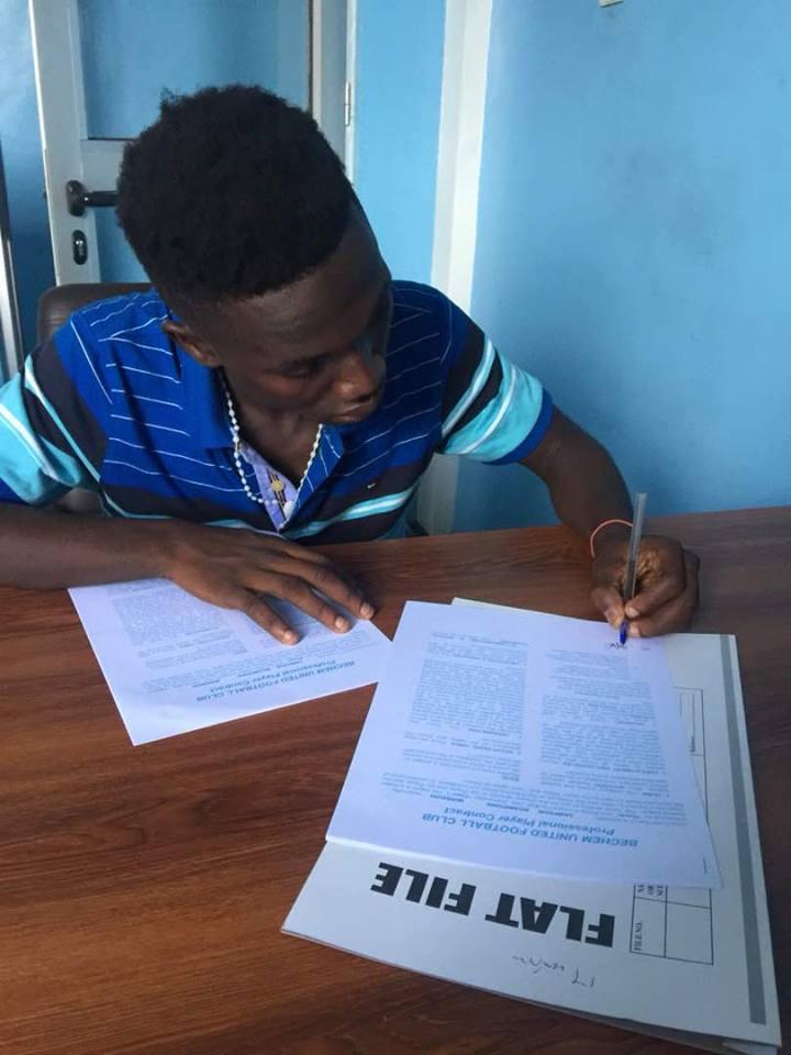 Ex-Aduana Stars winger Sampson Boampong joins Bechem United on loan