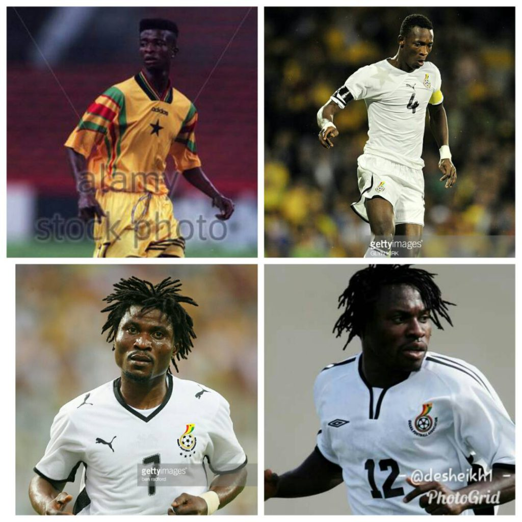 Former Black Stars players Laryea, Attram, Pantsil and Issaka to test tactical muscle in Ghana Got Talent Soccer Gala on 17th February