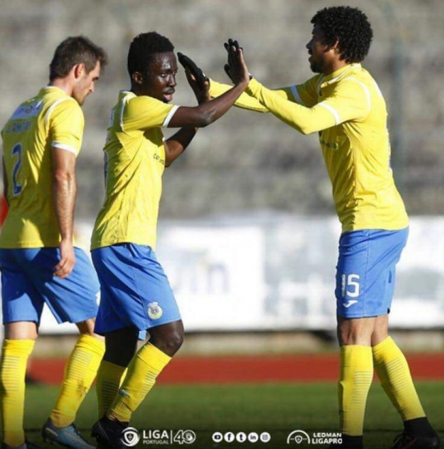 Ghanaian winger Ernest Ohemeng nets first goal for FC Arouca in win over Braga B