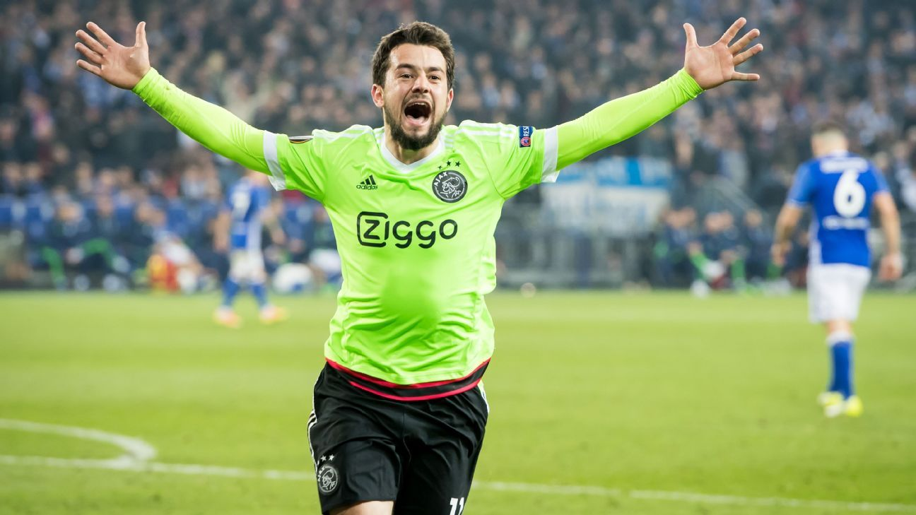 Ajax's Amin Younes might not join Napoli this summer