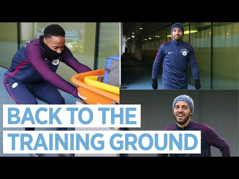 WORK HARD, PLAY HARD | City Squad back in Training