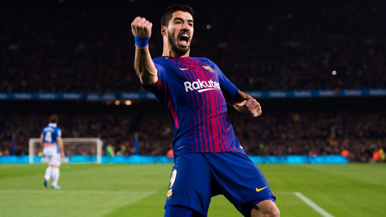 Luis Suarez feeling 'spectacular' after recovering from Barcelona injury woe