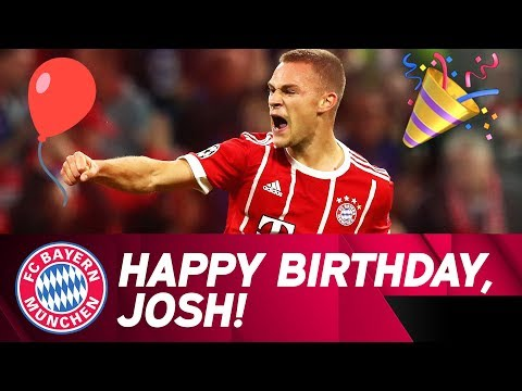 From Boy to Men: Joshua Kimmich Turns 23! | FC Bayern