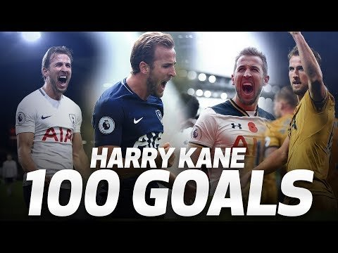 HARRY KANE'S 100 PREMIER LEAGUE GOALS