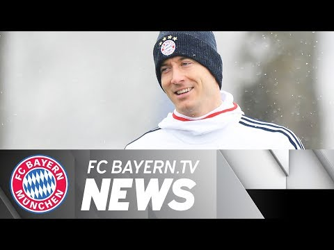 Müller resumes training – Lewy eyes Heynckes' record