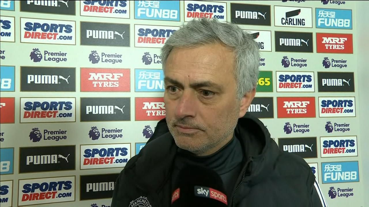Image result for mourinho lost newcastle interview