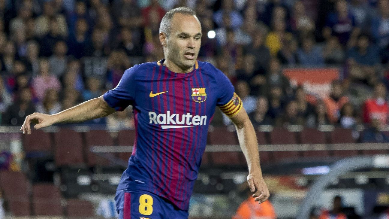 Ernesto Valverde plays down talk of Andres Iniesta leaving for China