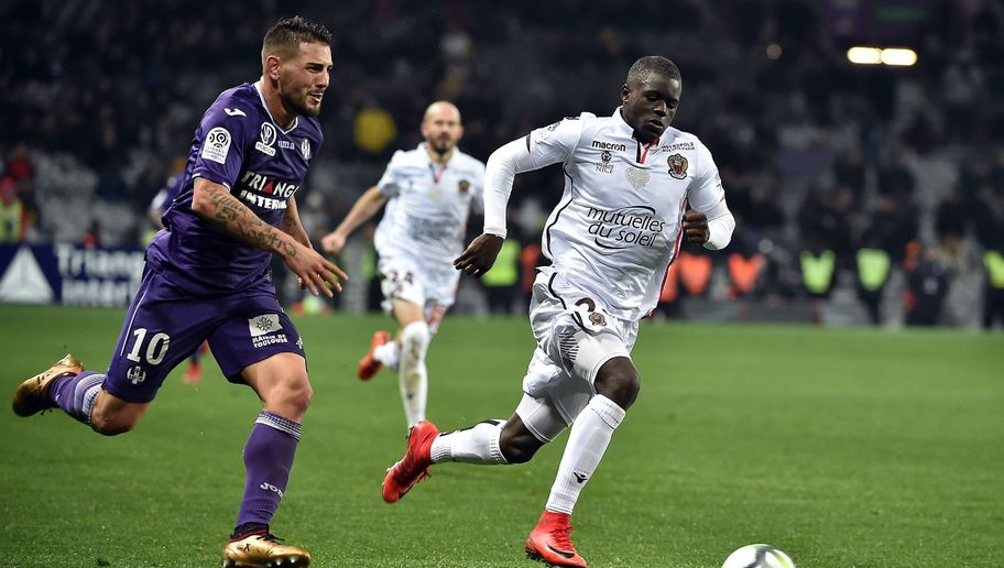 Barcelona Send Scouts to Watch Nice Stars Malang Sarr and Jean-Michael Seri in Europa League