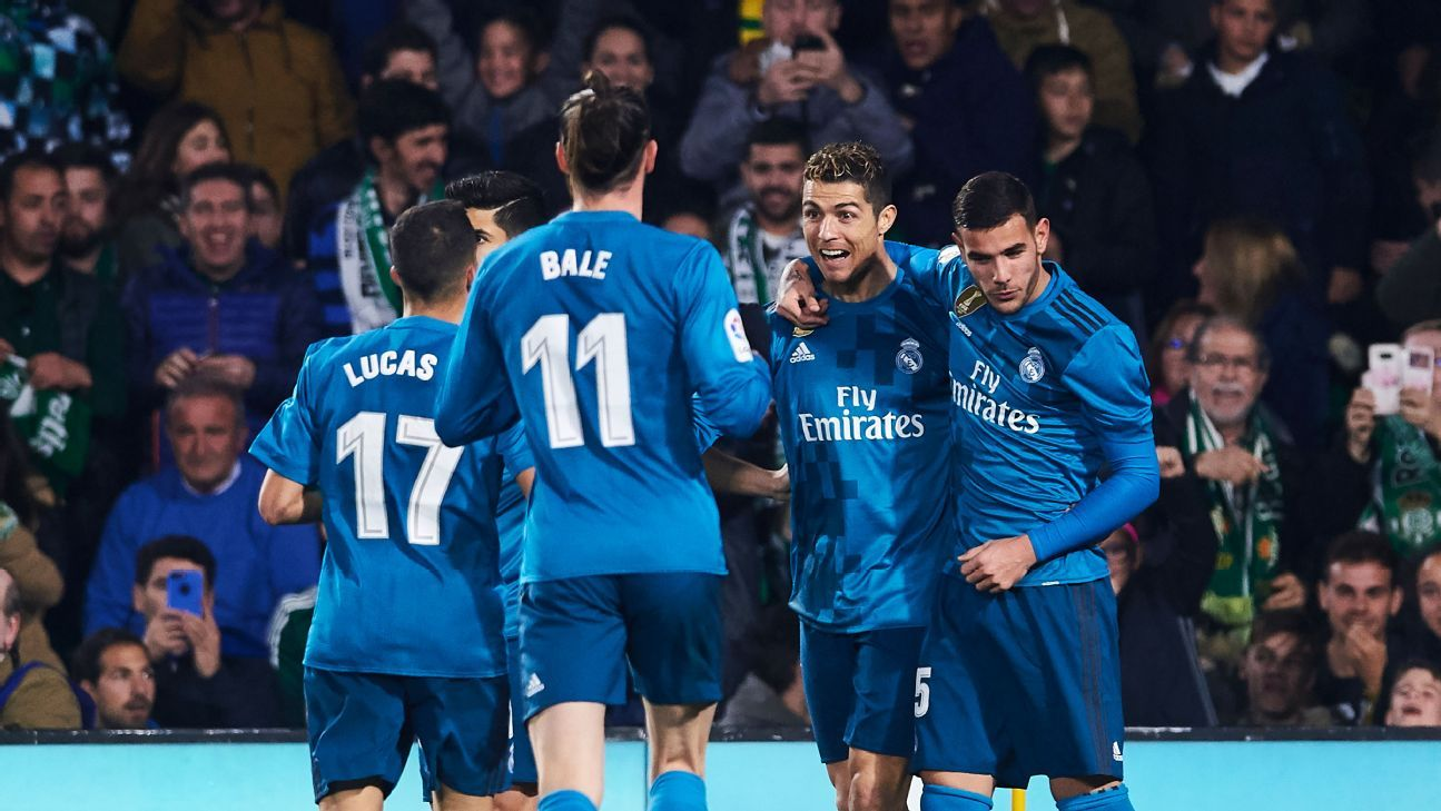 Real Madrid's 'character' on display in 'crazy' defeat of Betis - Zidane