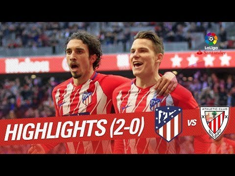 Resumen de Atlético de Madrid vs Athletic Club (2-0)