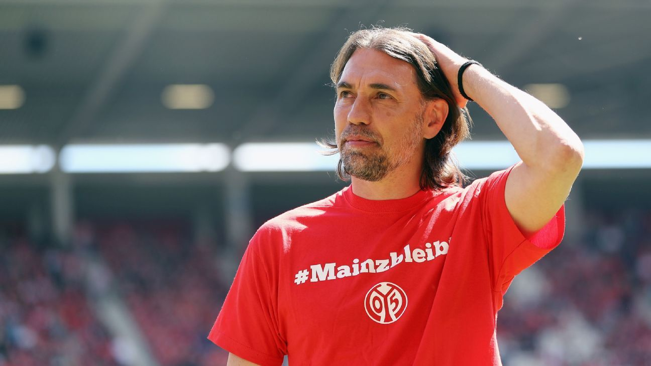 Martin Schmidt quits as Wolfsburg manager after 19 matches