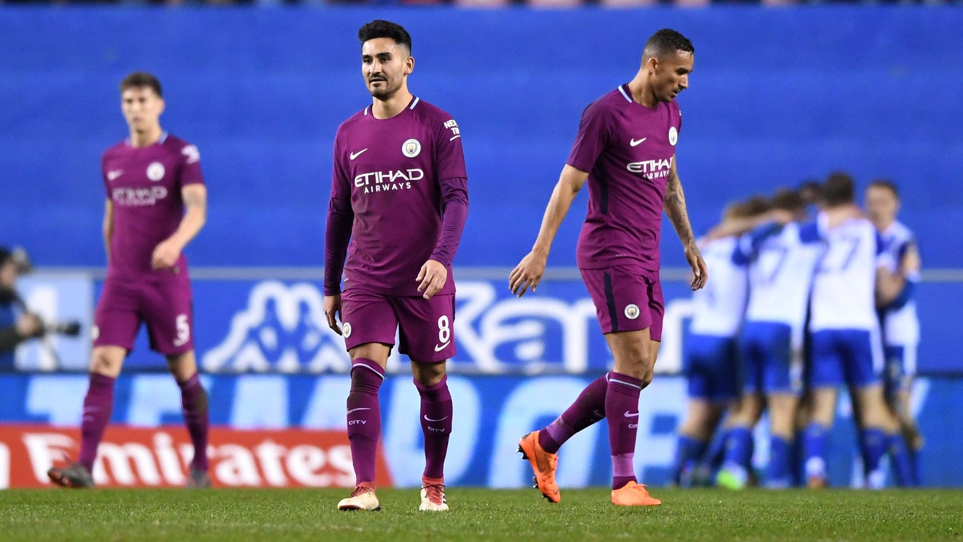 Man City must regroup from Wigan shock