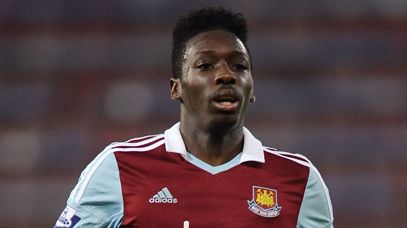 Ex-West Ham winger Blair Turgott accused of gambling with stolen card