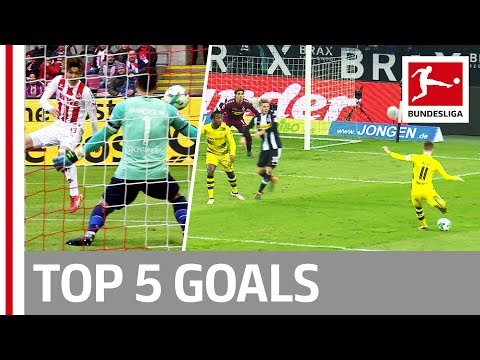 Reus, Bailey, Osako and More  - Top 5 Goals on Matchday 23