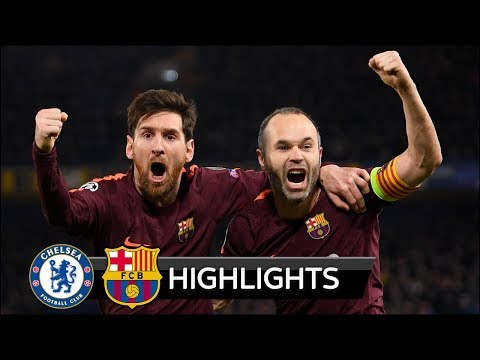 Chelsea vs Barcelona 1-1 - All Goals & Extended Highlights - Champions League 20/02/2018 HD