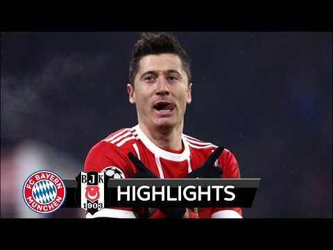 Bayern Munich vs Besiktas 5-0 - All Goals & Extended Highlights - UCL 20/02/2018 HD