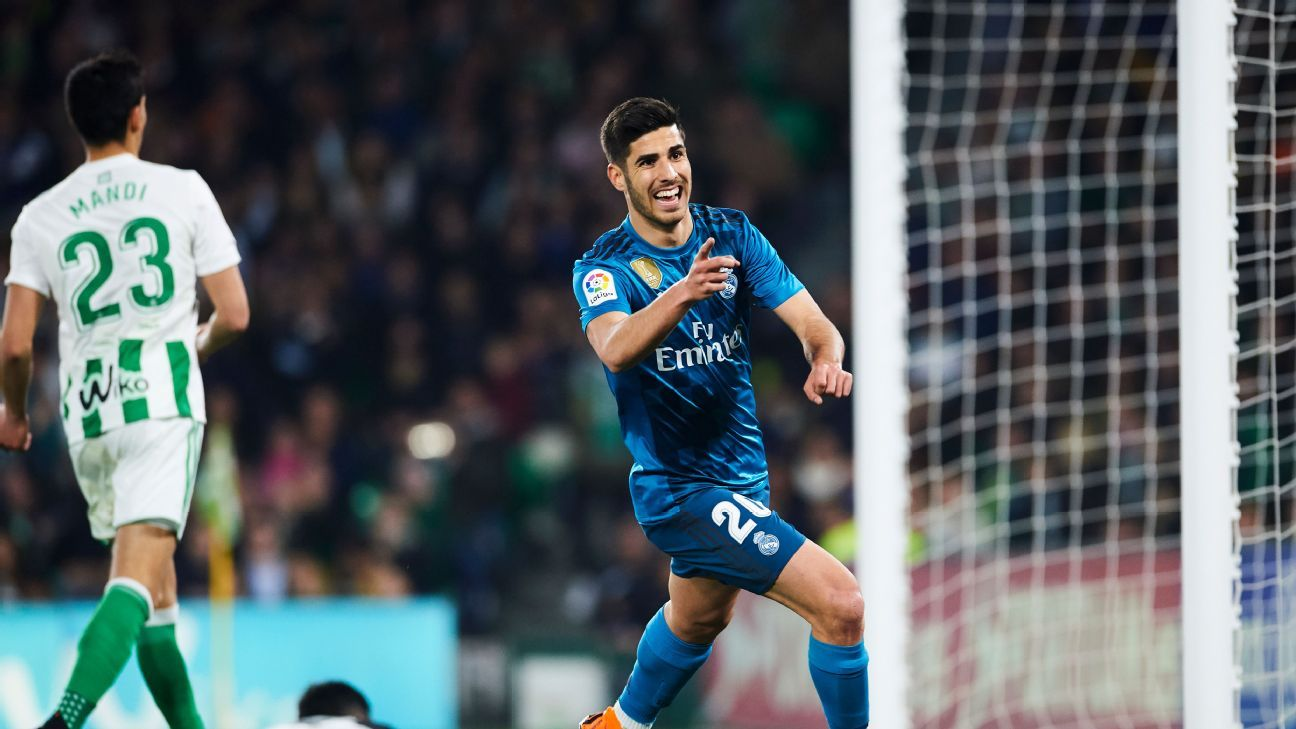 Real Madrid's Marco Asensio on Chelsea, Arsenal, Liverpool transfer lists