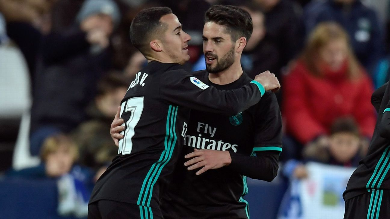 Vazquez makes case for place in Real XI with all-action showing at Leganes