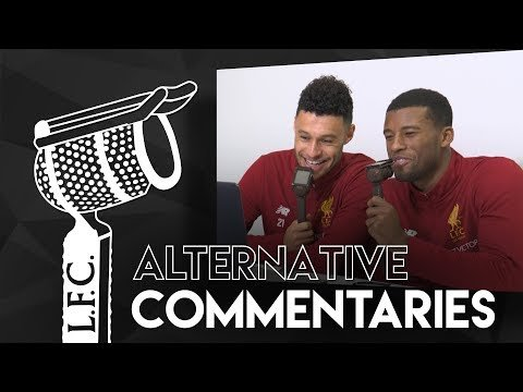 Alternative Commentaries: Gini & Oxlade-Chamberlain | 'Here go the road runners'