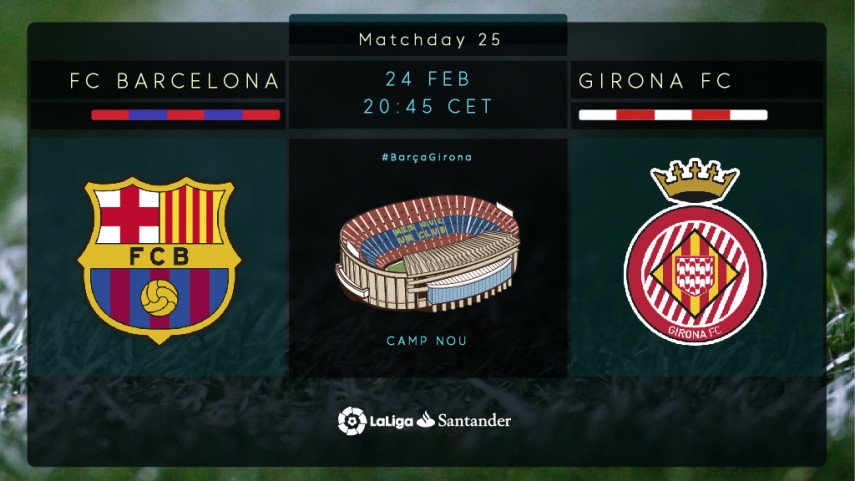 Girona set for historic derby visit to the Camp Nou