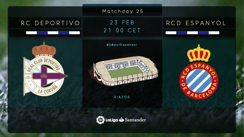 Depor and Espanyol clash at Riazor