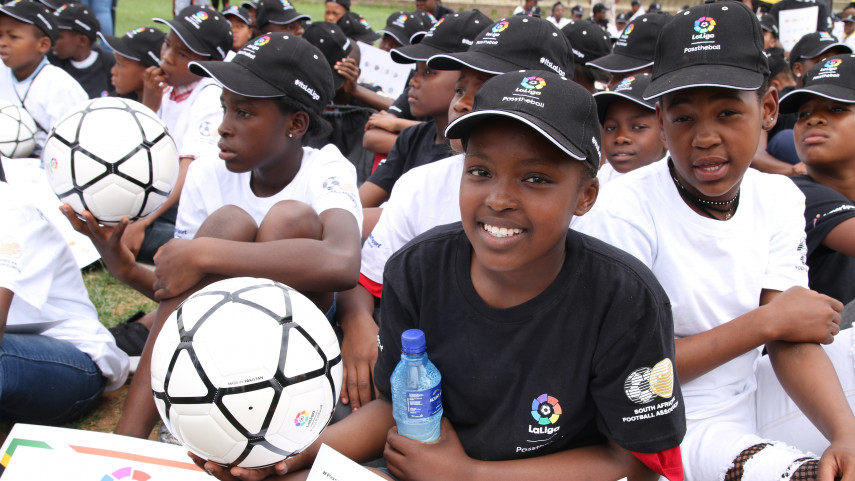 LaLiga and SAFA Changing Lives One Football at a Time with #PassTheBall