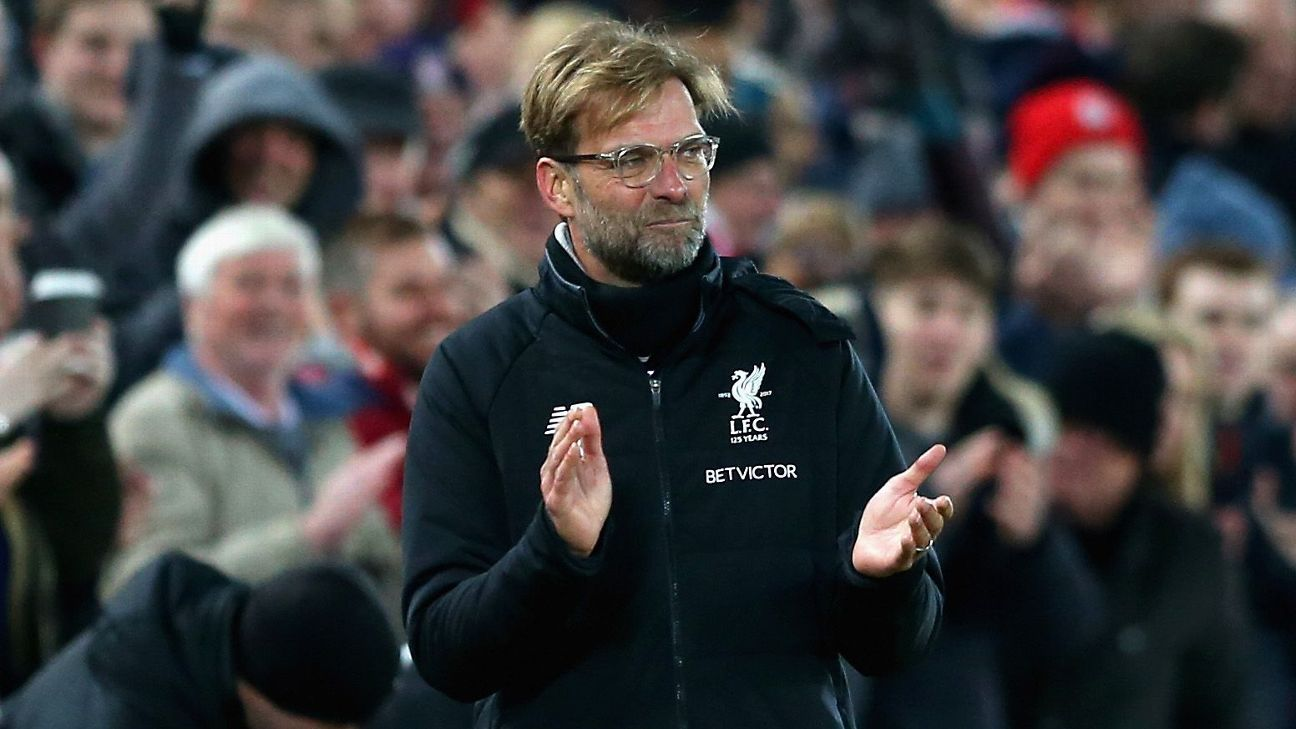 Barring a letdown, Liverpool's path to second is clear