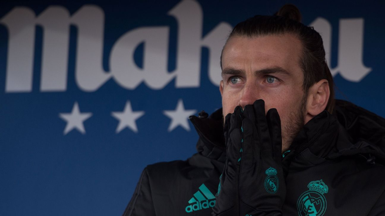 Bale's dwindling playing time after regaining fitness puts Madrid future in doubt
