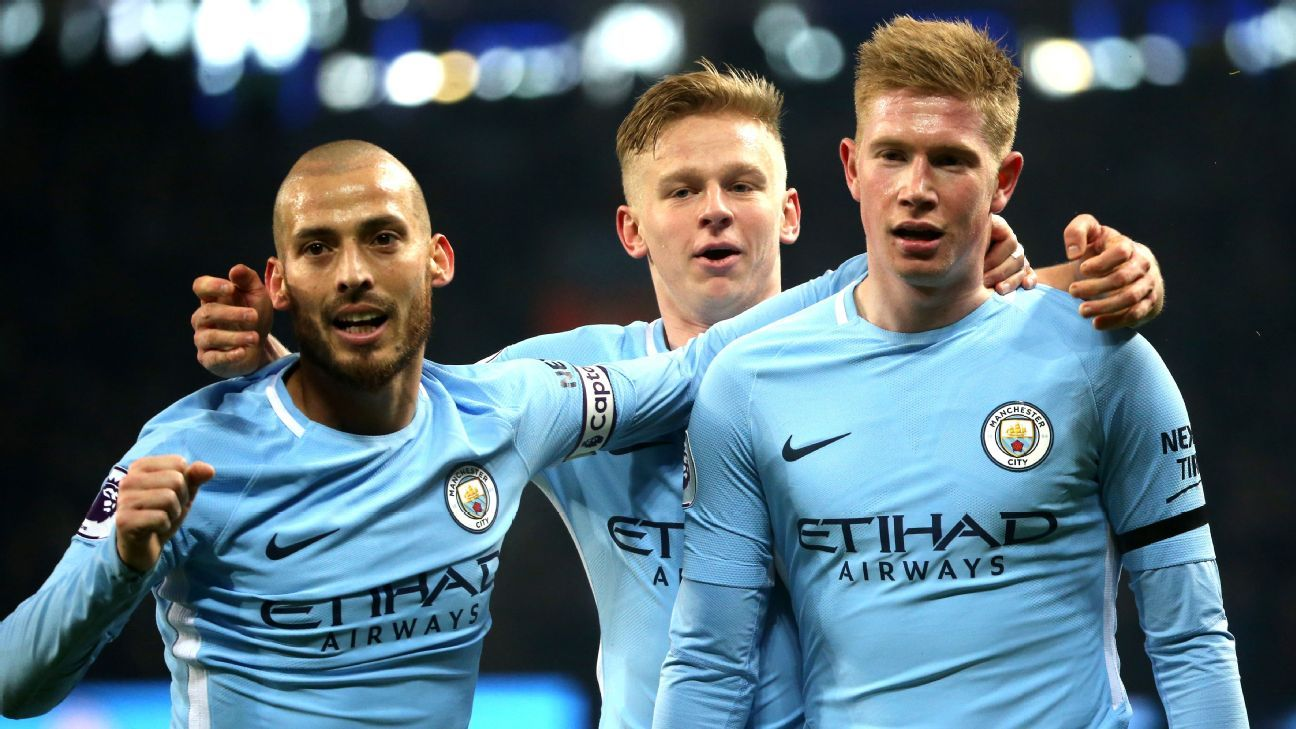 Guardiola's use of Silva and De Bruyne is revolutionising English football
