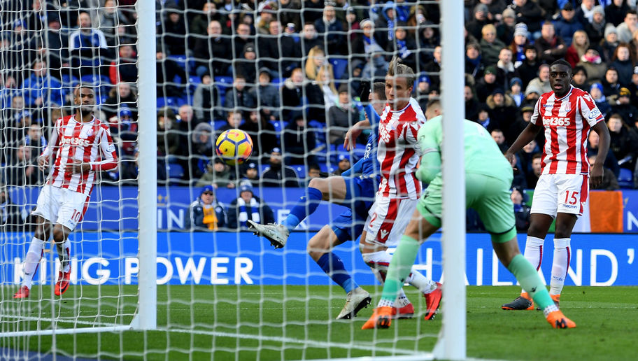 Leicester City 1-1 Stoke City: Jack Butland Howler Rescues Point for Foxes