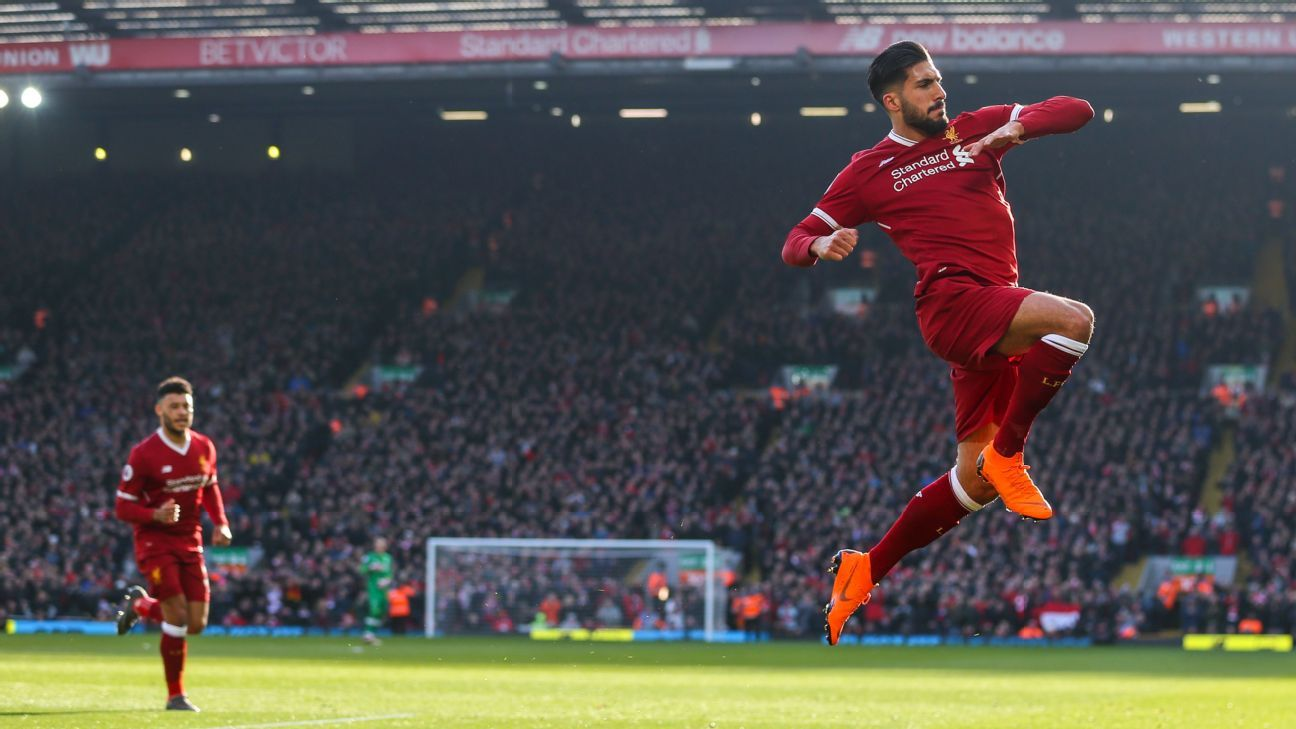 Liverpool move up to second with big win; West Brom slump again