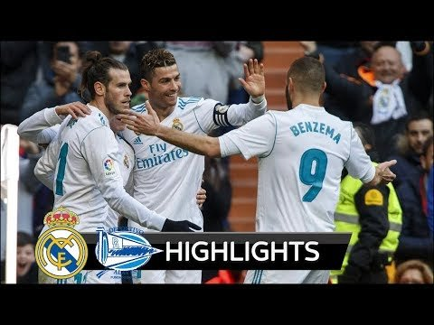 Real Madrid vs Alaves 4-0 - All Goals & Extended Highlights - La Liga 24/02/2018 HD