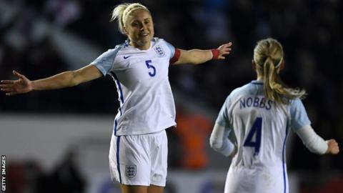 England Women: Trio called up by boss Phil Neville after injury withdrawals